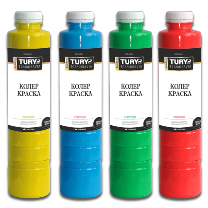 TURY Колер-краска