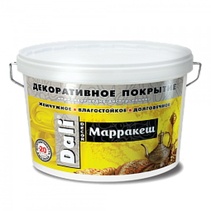 DALI-DECOR МАРРАКЕШ декоративная штукатурка акриловая