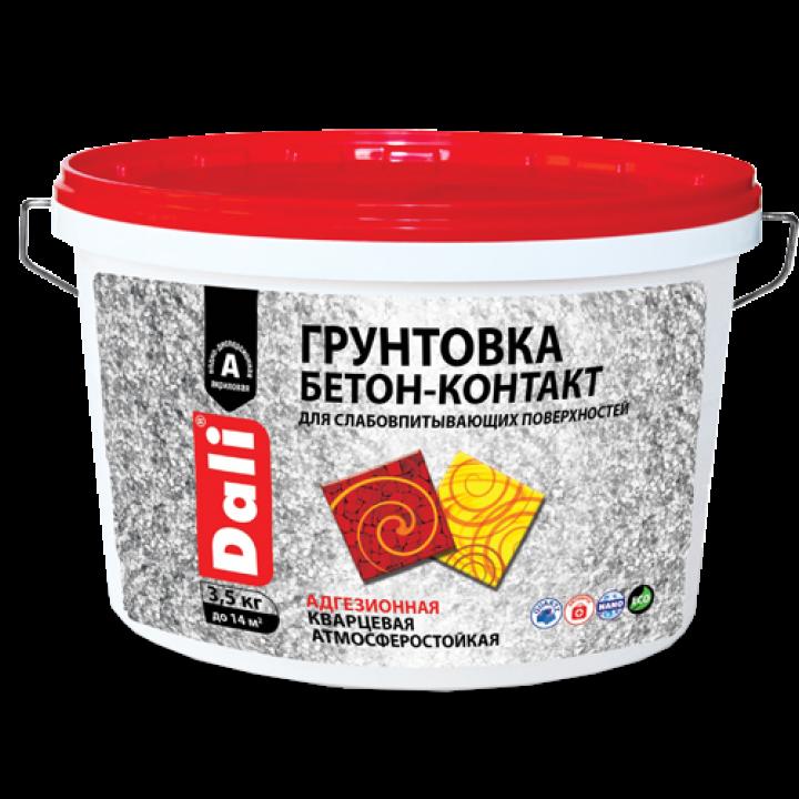 DALI БЕТОН КОНТАКТ грунтовка адгезионная акриловая