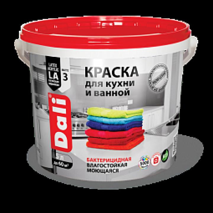 DALI Краска для кухни и ванной латексная акриловая