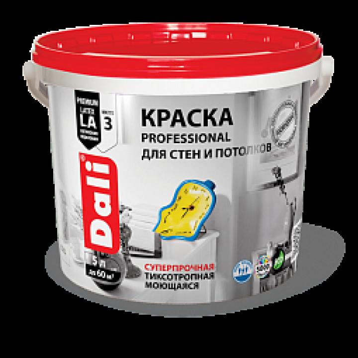 DALI PROFESSIONAL краска для стен и потолков акриловая глубокоматовая