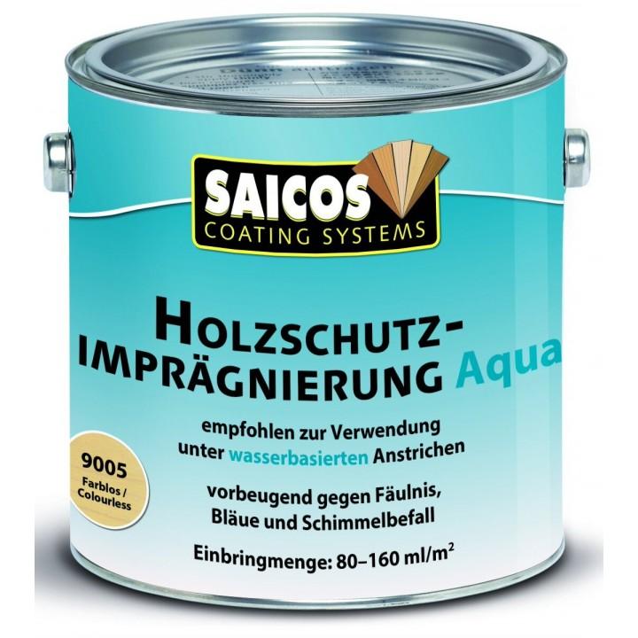 SAICOS HOLZSCHUTZ-IMPRAGNIERUNG AQUA защитная пропитка на водной основе