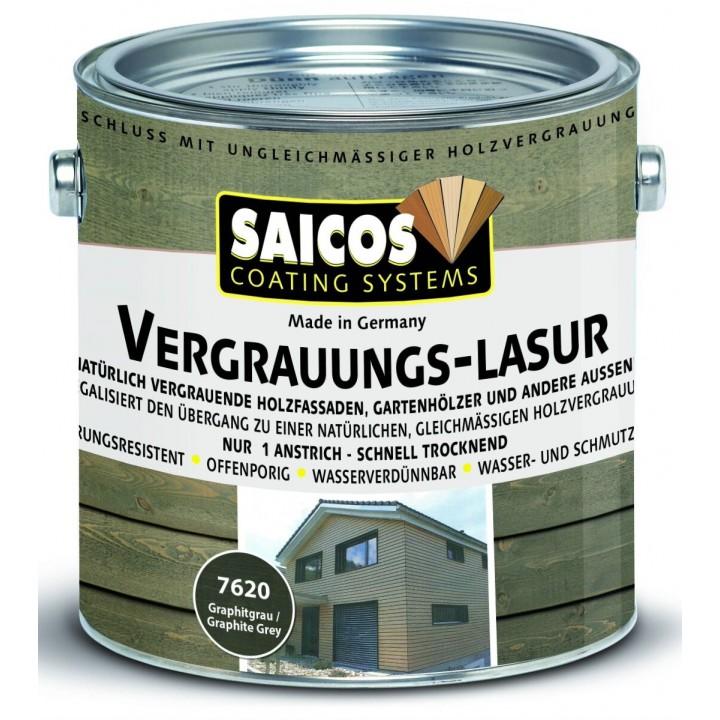 SAICOS VERGRAUUNGS LASUR защитная специальная лазурь