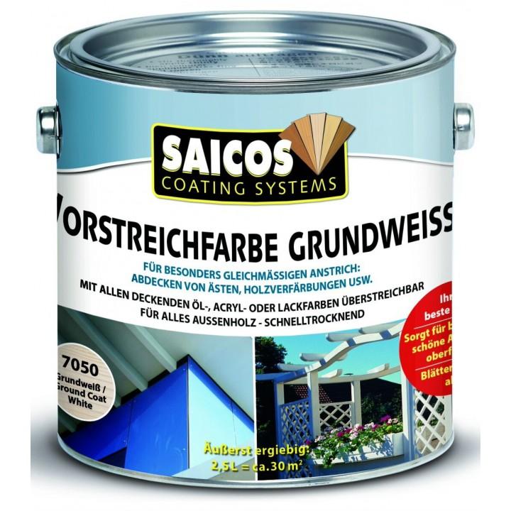 SAICOS VORSTREICHFARBE GRUNDWEISS белая грунтовка для предварительной окраски