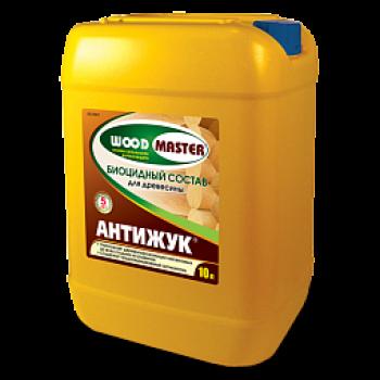 WOODMASTER АНТИЖУК биоцидный пропиточный состав для древесины