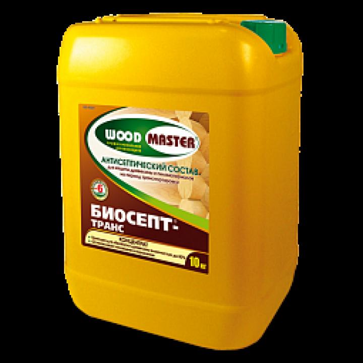 WOODMASTER БИОСЕПТ- ТРАНС концентрированный пропиточный состав для древесины